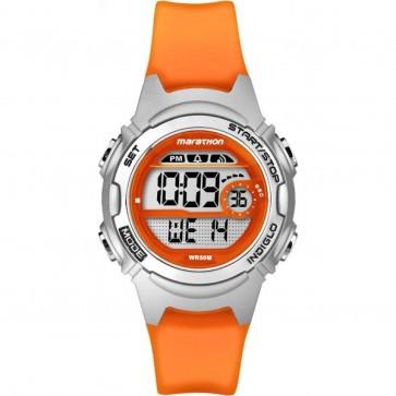 Timex Women's Ladie's Children's Quartz Watch With Orange Strap TW5K96800