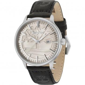 Timberland Mens Gents Edgemont Gents Wrist Watch Black Leather Strap 15260JS/11