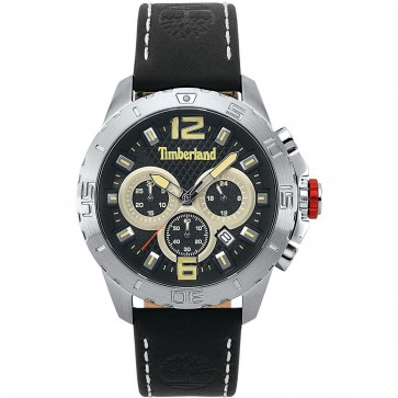 Timberland Mens Gents Harriston Chronograph Wrist Watch Black Dial 15356JS/02