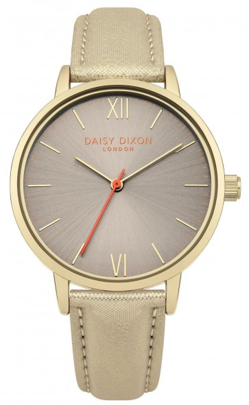 Daisy Dixon Ladies Womens Billie Wrist Watch Gold Dial Face DD007GG
