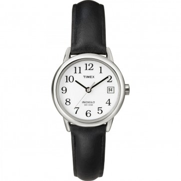 Timex Womens Ladies Quartz Watch With White Dial T2H331