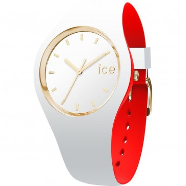 ICE Ladies Womens Loulou White And Gold Watch 007239