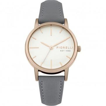Fiorelli Ladies Watch Gold Bracelet White Dial FO027ERG