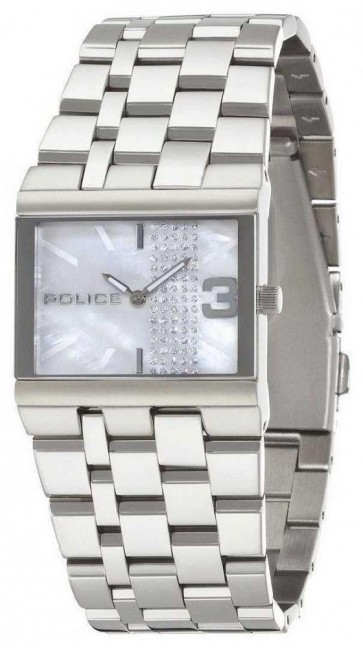 Police Women's Watch with Mother of Pearl Dial Analogue Dial