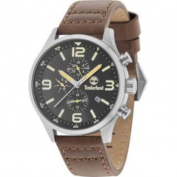 Timberland Mens Gents Rutherford Wrist Watch Black Dial 15266JS/02