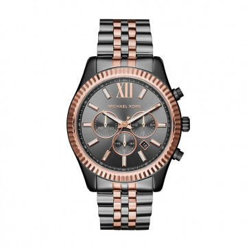 Michael Kors MK8561 Lexington Two-Tone Chronograph Gents Men's Watch