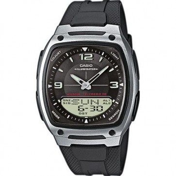 Casio Mens Chronograph Watch Alarm Timer AW-81-1A1VES