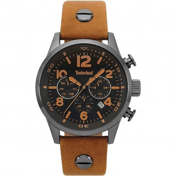 Timberland Mens Gents  Jenness Wrist Watch Black Dial 15376JSU/02