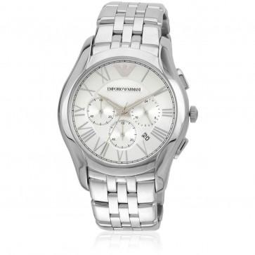 Emporio Armani Ladies Chronograph Watch Stainless Steel Bracelet AR1702