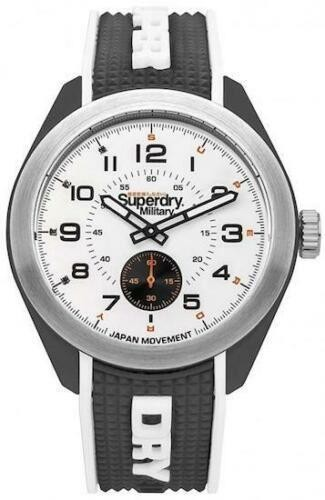 Superdry Mens Gents Navigator Military Wrist Watch SYG214B
