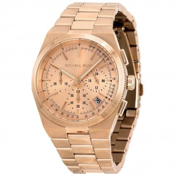 Michael Kors Channing Ladies Chronograph Rose Gold Stainless Steel MK5927