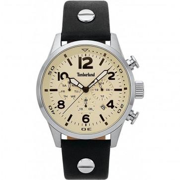 Timberland Mens Gents Jenness Gents Wrist Watch Cream Dial 15376JS/07