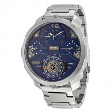 Diesel Mens Oversize Machinus Chronograph Watch Four Time Zone DZ7361