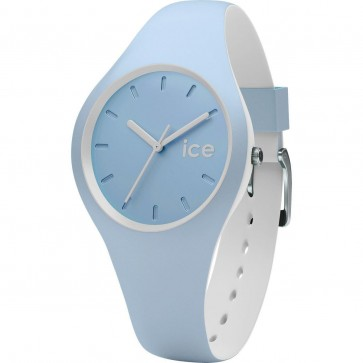 ICE Ladies Womens White Sage Duo Watch Blue Strap Blue Dial 001489