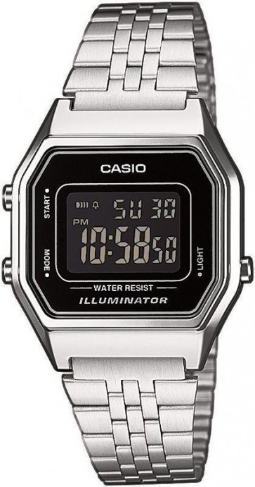 Casio Ladies Womens Digital Retro Wrist Watch G Series LA680WA-1BDF