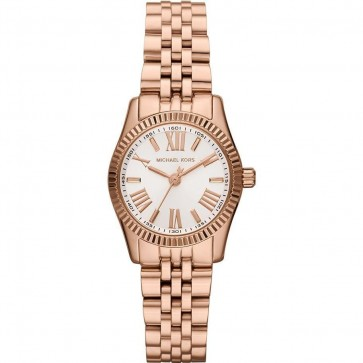 Michael Kors Lexington Ladies Watch Gold Strap  Gold Dial MK3230