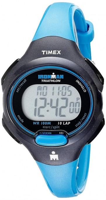 Timex Ironman Unisex Triathlon Wrist Watch Blue Strap T5K526