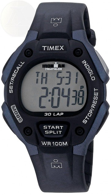 Timex Mens Gents Ironman Wrist Watch Black Strap T5H591
