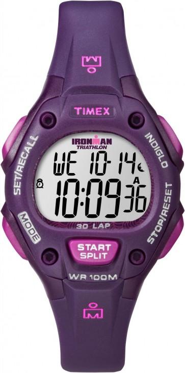 Timex Ironman Womens Ladies Wrist Watch Purple Strap T5K756