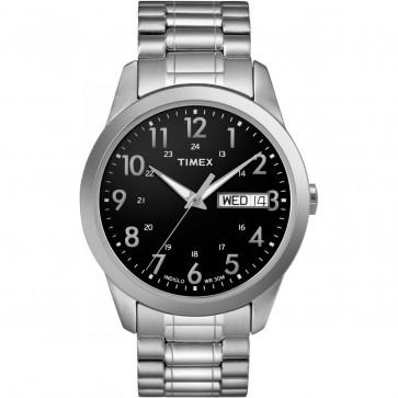 Timex Men's Gent's Quartz Watch With Black Dial T2M932