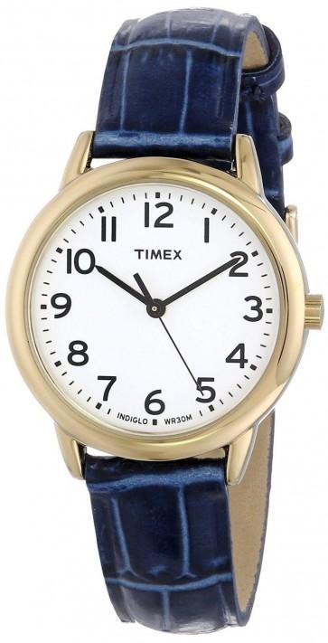 Timex Women's Ladie's Quartz Watch With White Dial T2N954
