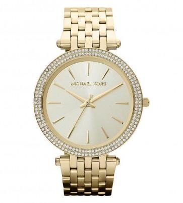 Michael Kors Darci Ladies Watch  Gold Bracelet Champagne Dial MK3191