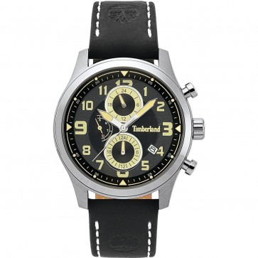 Timberland Mens Gents Groveton Wrist Watch Black Dial 15357JS/02