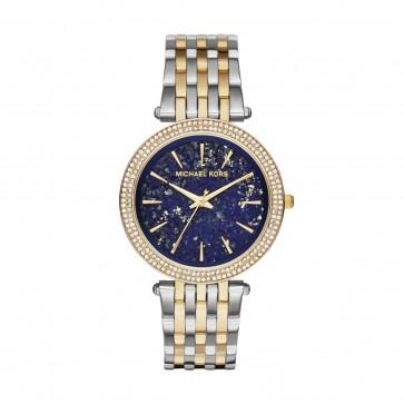 Michael Kors  Ladies Watch Darci Rose Gold Blue Dial MK3401