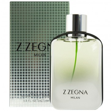 Ermenegildo Zegna Milan EDT Spray 50 ml Mens Gents Fragrance
