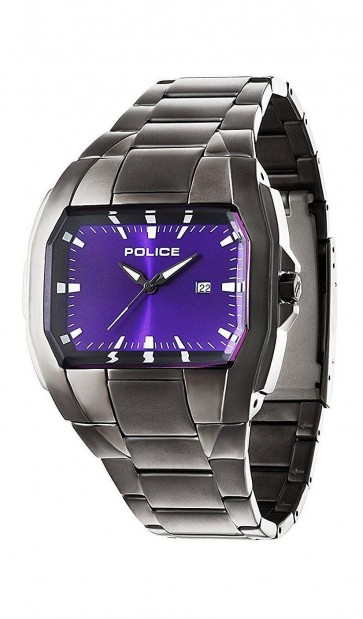 Police Mens Gents Glendale Gunmetal Wrist Watch 94181AEU/15M
