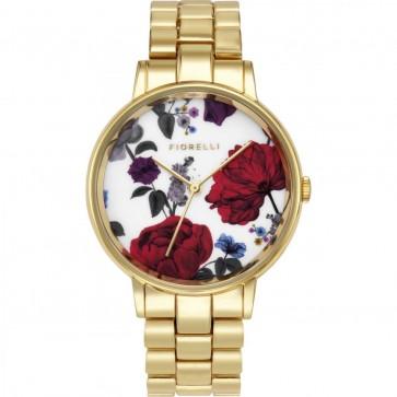 Fiorelli Womens Analogue Classic Quartz Watch with Aluminium Strap FO043GM