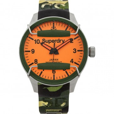Superdry Mens Gents Scuba Camo Wrist Watch SYG129N