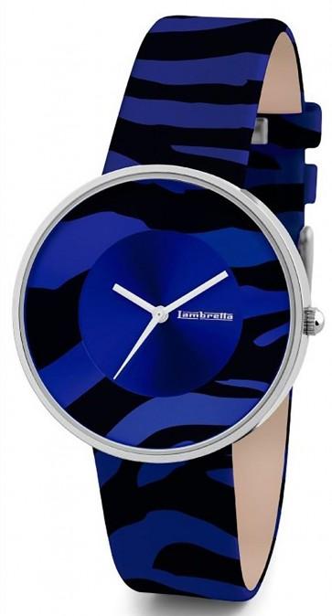 Lambretta Ladies Womens Wrist Watch Zebra Blue 2109BLU