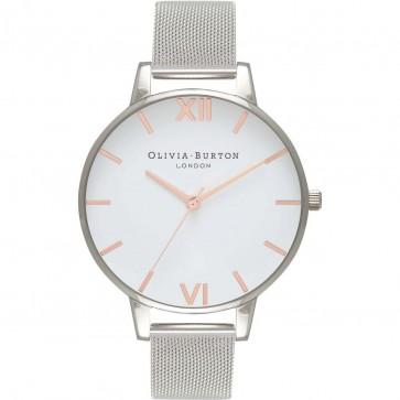 Olivia Burton Womens Ladies Big Dial Wrist Watch White Dial OB16BD97
