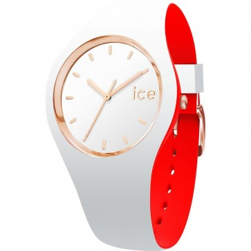 ICE Loulou Ladies Womens Watch White Face White Strap 007230