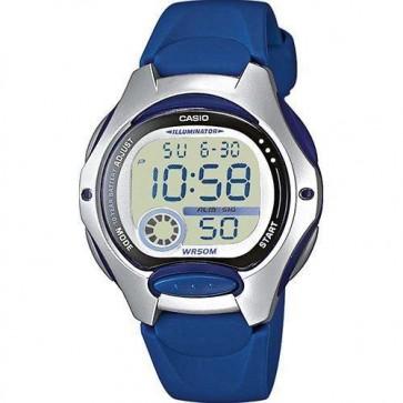 Casio Ladies Watch Watch Alarm Chronograph Resin Strap LW-200-2AVEF
