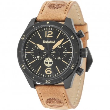Timberland Mens Gents Gloucester Wrist Watch Brown Strap 15255JSB/02