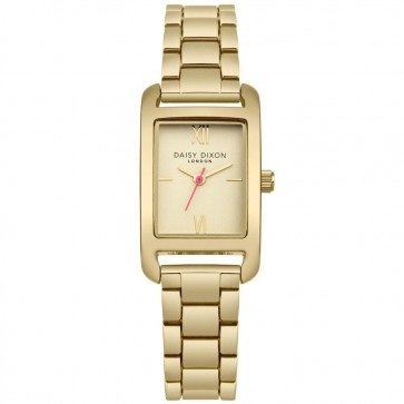 Daisy Dixon Womens Ladies Nadine Wrist Watch Gold Strap Face DD057GM