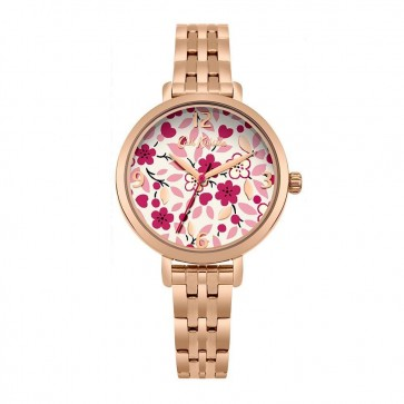 Cath Kidston Ladies Womens Gold Wrist Watch CKL037RGM