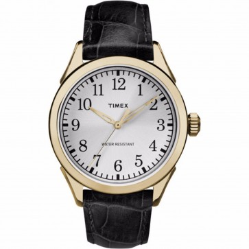Timex Men's Gent's Quartz Watch With Dial And Black Strap TW2P99600