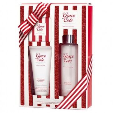 Grace Cole Ladies Cherry & Vanilla Calming Bathing Gift Set