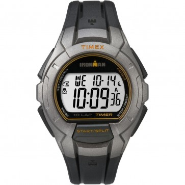 Timex Unisex Quartz Watch With Grey Dial Black Strap TW5K93700