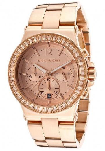 Michael Kors Ladies Rose Gold Tone Bracelet Watch MK5412