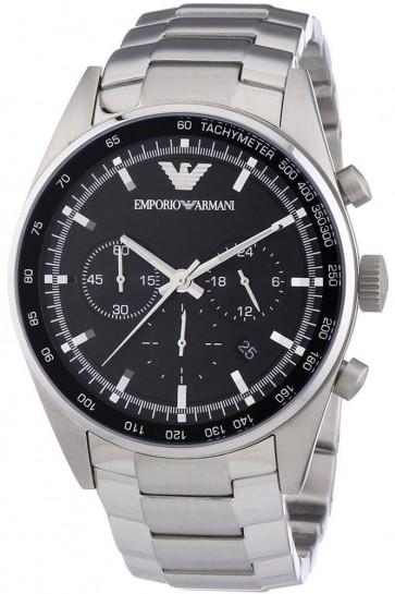 Emporio Armani  Mens Chronogrpah Watch Stainless Steel AR5980