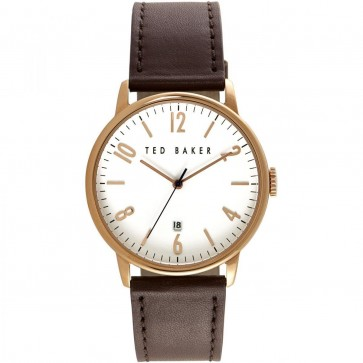 Ted Baker Brown Mens Gents Wrist Watch 10030651