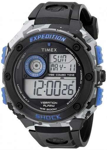 Timex Men's Expedition Alarm Chronograph Watch TW4B00300