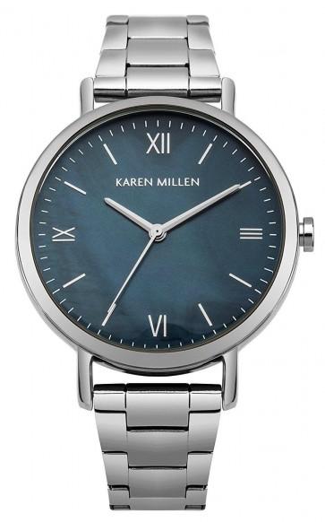 Karen Millen Womens Ladies Wrist Watch Stainless Steel Strap KM159USM