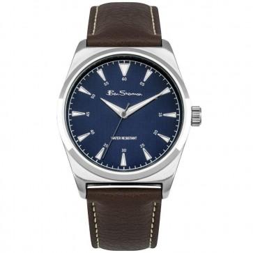 Ben Sherman Mens Gents Wrist Watch Blue Dial BS156