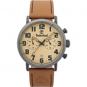 Timberland Mens Gents Richdale Wrist Watch Brown Strap 15405JSQS/07