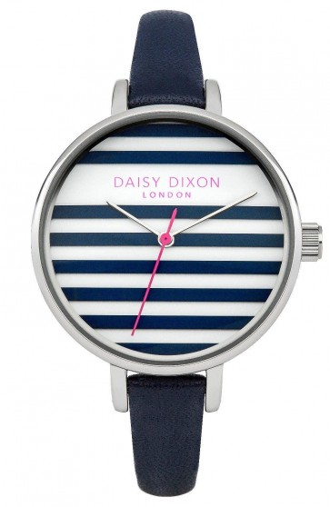 Daisy Dixon Lauren Womens Ladies Wrist Watch Blue Strap DD025US
